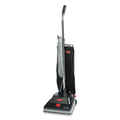 """Rubbermaid Commercial Traditional Upright, 12"""", Black, 50ft Cord (RCP 1868436)"""