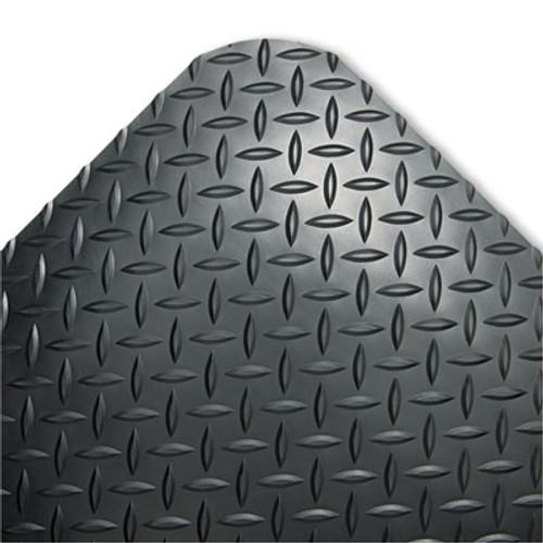 Crown Industrial Deck Plate Anti-Fatigue Mat  Vinyl  24 x 36  Black (CWNCD0023DB)