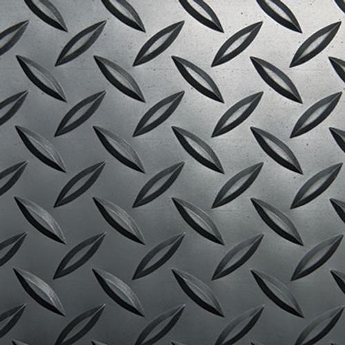 Crown Industrial Deck Plate Anti-Fatigue Mat, Vinyl, 24 x 36, Black (CWNCD0023DB)