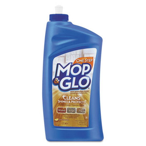 MOP & GLO Triple Action Floor Cleaner  Fresh Citrus Scent  32 oz Bottle (REC 89333)