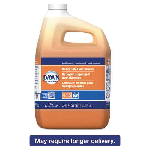 Dawn Professional Heavy-Duty Floor Cleaner  Neutral Scent  1gal Bottle  3 Carton (PGC 08789)