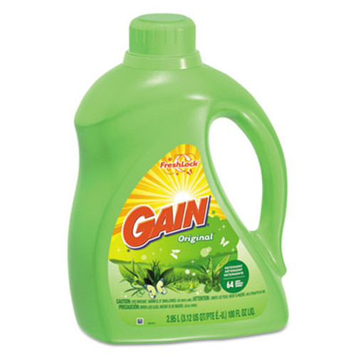 Gain Liquid Laundry Detergent  Original Scent  100oz  4 CT (PGC 12786)