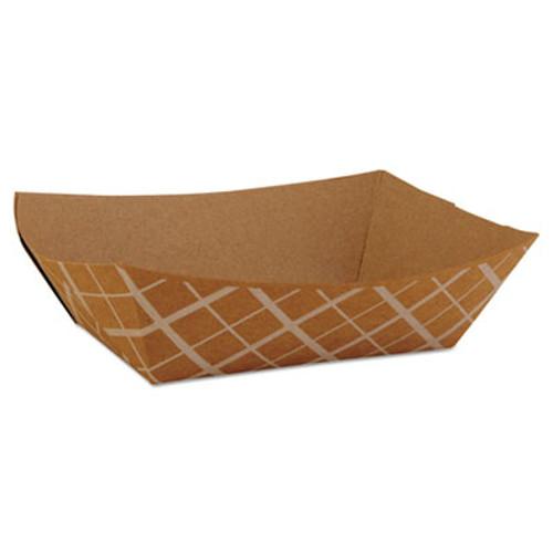 SCT Paper Food Baskets  Brown Kraft  1 lb Capacity  1000 Carton (SCH 0513)