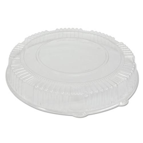 WNA Caterline Dome Lids  Plastic  18  Diameter  2 3 4  High  Clear  25 Carton (WNA A18PETDM)
