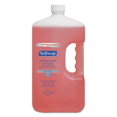 Softsoap Antibacterial Liquid Hand Soap Refill  Crisp Clean  Pink  1gal Bottle (CPC 01903)