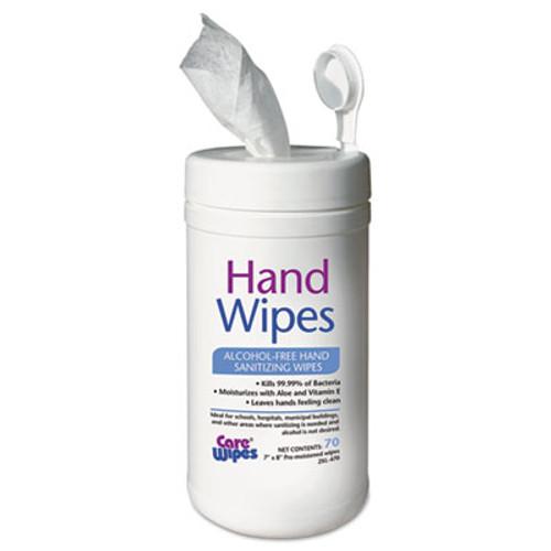 2XL Alcohol Free Hand Sanitizing Wipes  7 x 8  White (TXL 470)