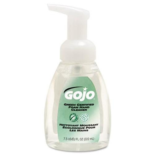GOJO Green Certified Foam Soap, Fragrance-Free, Clear, 7.5oz Pump Bottle (GOJ571506EA)