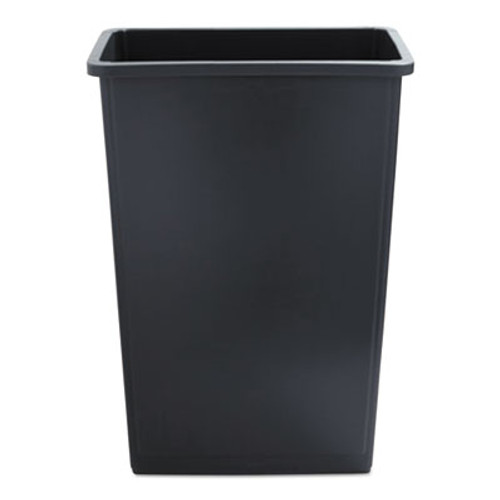 Boardwalk Slim Jim Waste Container, 23 Gal, Gray, Plastic (UNS 23GLSJ GRA)