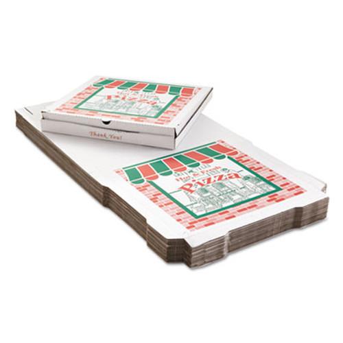ARVCO Corrugated Pizza Boxes  24 x 24  White  25 Carton (ARV9244393)
