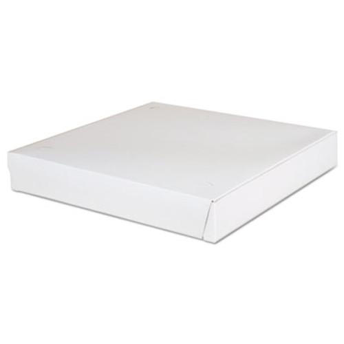 SCT Lock-Corner Pizza Boxes  12 x 12 x 1 7 8  White  100 Carton (SCH 1460)