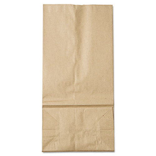 General #16 Paper Grocery Bag, 35lb Kraft, Standard 7 3/4 x 4 13/16 x 16, 1000 bags (BAG GK16)