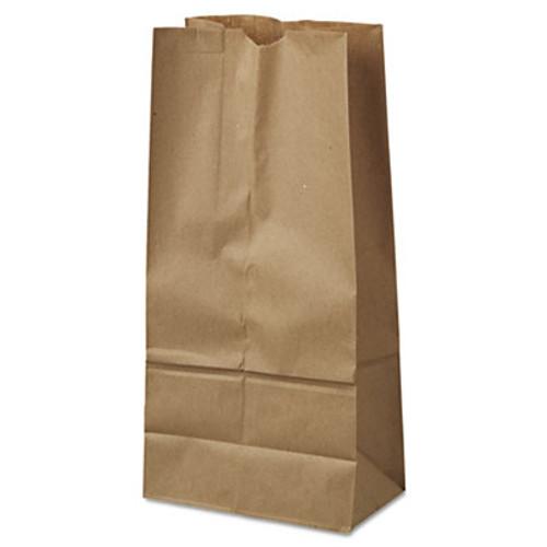 General #16 Paper Grocery Bag, 35lb Kraft, Standard 7 3/4 x 4 13/16 x 16, 1000 bags (BAG GK16)