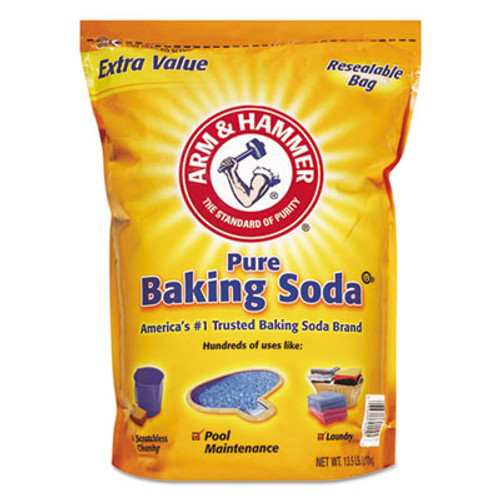 Arm & Hammer Baking Soda, 13-1/2 lb Bag, Original Scent (CDC 33200-01961)