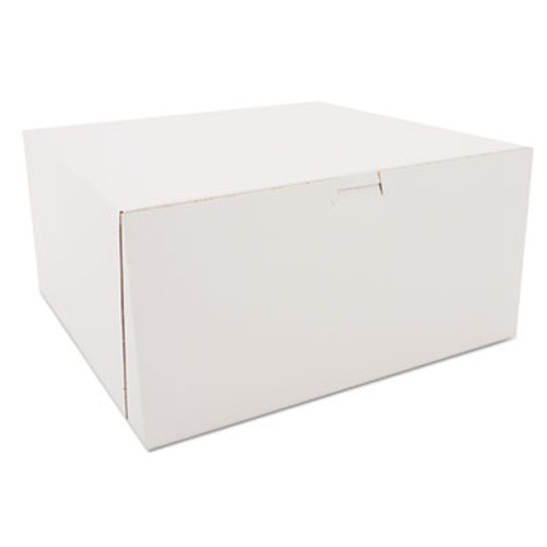 SCT Tuck-Top Bakery Boxes  White  Paperboard  12 x 12 x 6 (SCH 0989)
