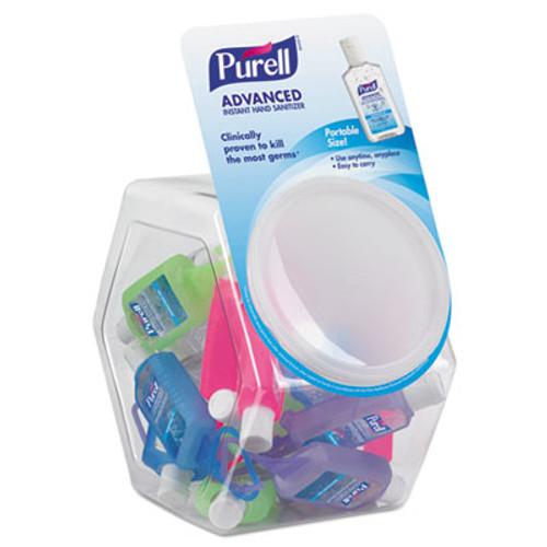 PURELL Advanced Instant Hand Sanitizer Gel, Jelly Wrap Bottle,1oz, 25/Bowl,1 Bowl/CT (GOJ 3900-25-BWL)