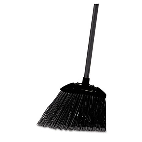 Rubbermaid Commercial Lobby Pro Broom  Poly Bristles  35   with Metal Handle  Black (RCP 6374)