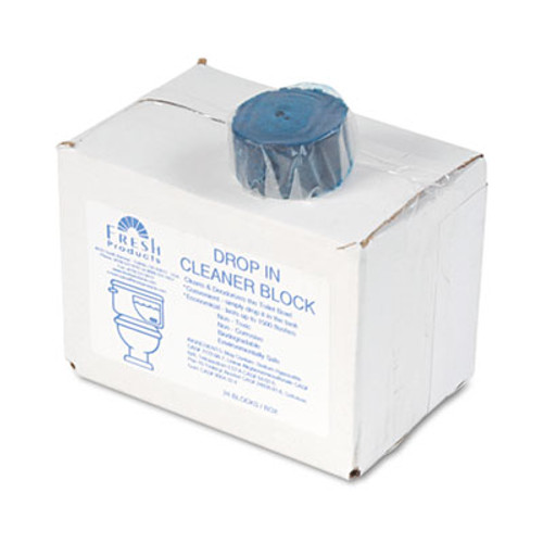 Fresh Products Drop-In Tank Non-Para Cleaner Block  24 Box (FRS 24-DI)