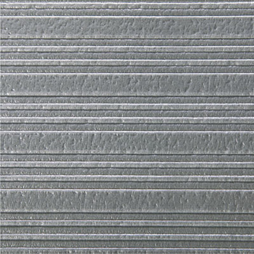 Crown Ribbed Anti-Fatigue Mat  Vinyl  36 x 60  Gray (CRO FL3660 GRA)