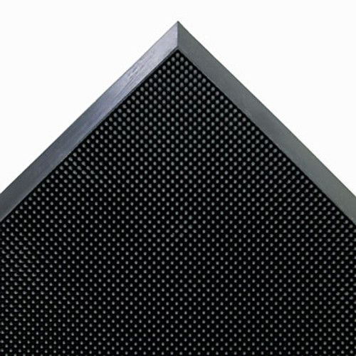 Crown Mat-A-Dor Entrance Scraper Mat  Rubber  24 x 32  Black (CRO MASR42 BLA)