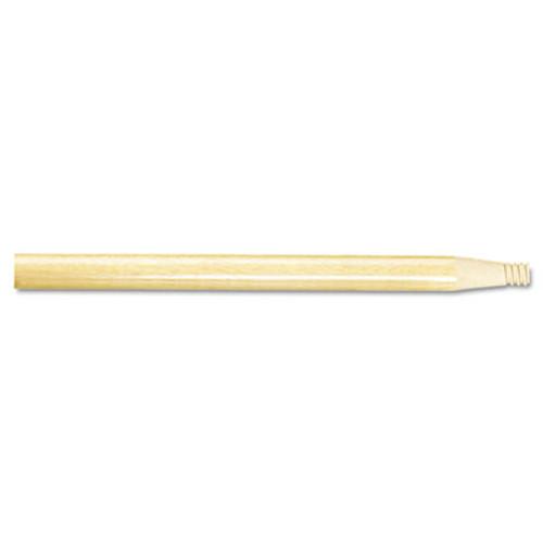 Boardwalk Threaded End Broom Handle  15 16  x 60   Natural Wood (BWK 122)