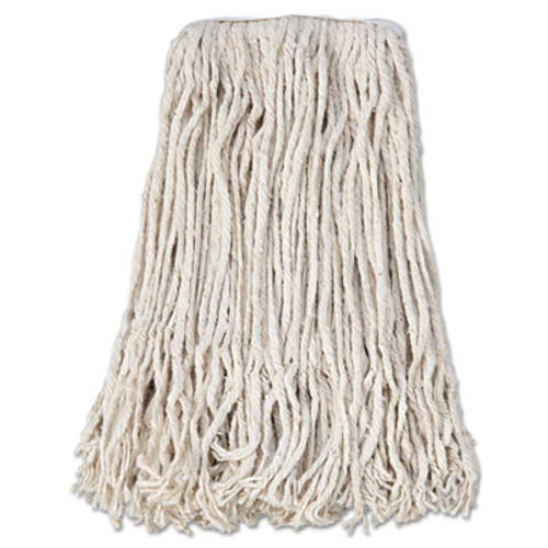 Boardwalk Banded Cotton Mop Head   24  White  12 Carton (BWK CM02024S)
