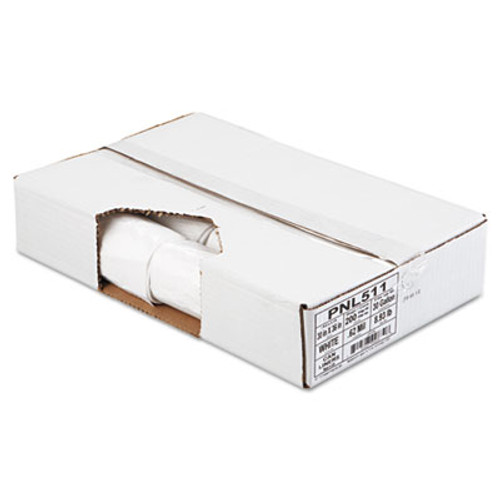 Penny Lane Linear Low Density Can Liners  30 gal  0 62 mil  30  x 36   White  200 Carton (PNL 511)