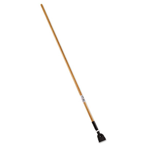 Rubbermaid Commercial Snap-On Hardwood Dust Mop Handle  1 1 2 dia x 60  Natural (RCP M116)