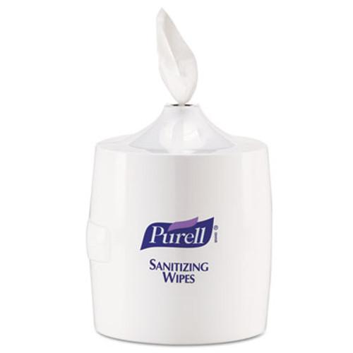PURELL Hand Sanitizer Wipes Wall Mount Dispenser  1200 1500 Wipe Capacity  White (GOJ 9019-01)