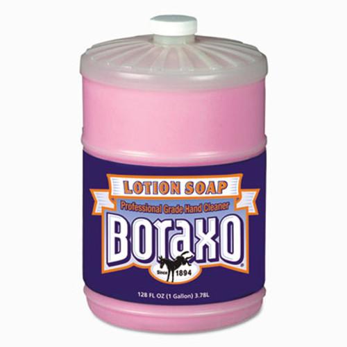 Boraxo Liquid Lotion Soap  Pink  Floral Fragrance  1 gal Bottle  4 Carton (DIA 02709)