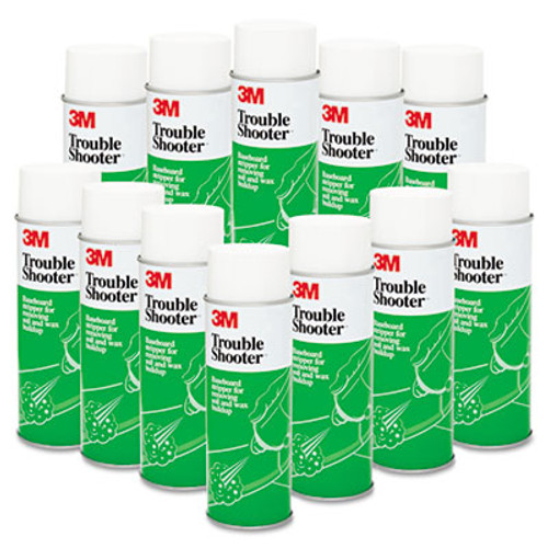 3M TroubleShooter Baseboard Stripper  21oz  Aerosol  12 Carton (MCO 14001)