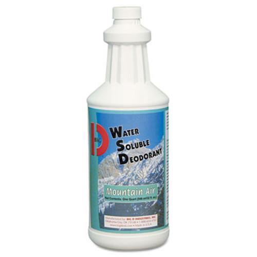 Big D Industries Water-Soluble Deodorant  Mountain Air  32 oz  12 Carton (BGD 358)