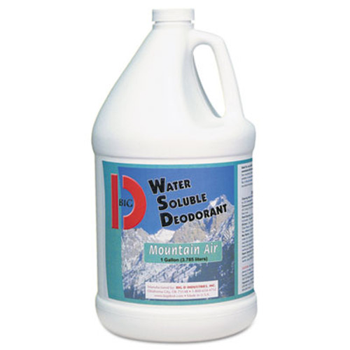 Big D Industries Water-Soluble Deodorant  Mountain Air  1 gal  4 Carton (BGD 1358)