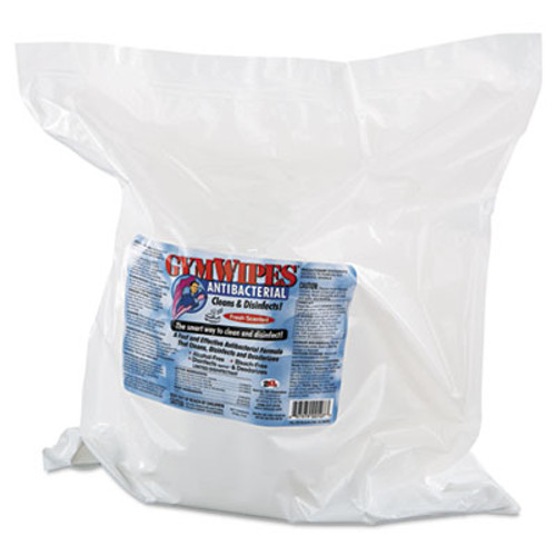 2XL Antibacterial Gym Wipes Refill  6 x 8  700 Wipes Pack  4 Packs Carton (TXL L101)