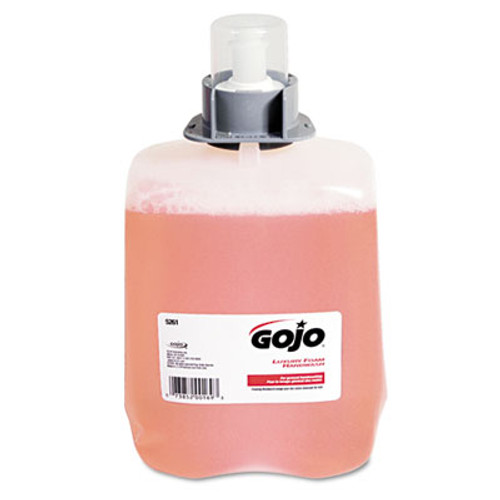 GOJO Luxury Foam Hand Wash Refill for FMX-20 Dispenser  2000 mL  Refreshing Cranberry  2 Carton (GOJ 5261-02)