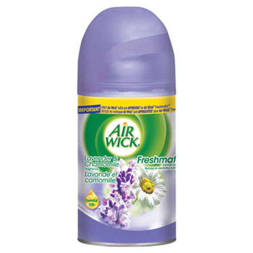 Air Wick Freshmatic Ultra Automatic Spray Refill  Lavender Chamomile  Aerosol  5 89 oz  6 Carton (REC 77961)