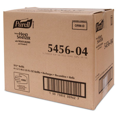 PURELL Advanced TFX Gel Instant Hand Sanitizer Refill  1200 mL (GOJ 5456-04)