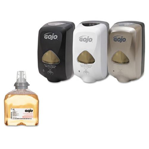 GOJO Premium Foam Antibacterial Hand Wash  Fresh Fruit Scent  1200mL  2 Carton (GOJ 5362-02)