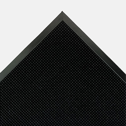 Crown Mat-A-Dor Entrance/Antifatigue Mat, Rubber, 36 x 72, Black (CRO MAFG62 BLA)