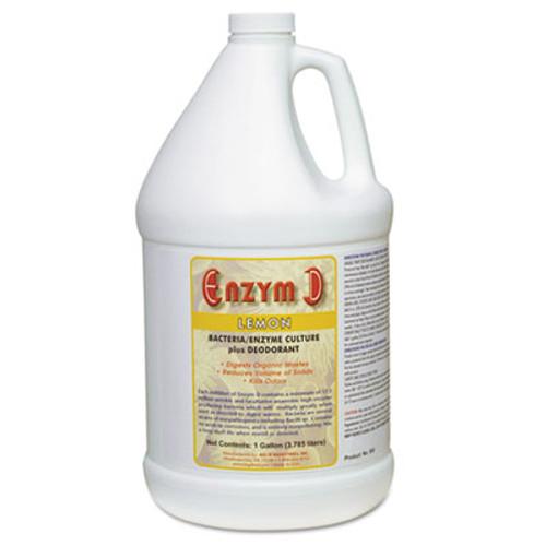Big D Industries Enzym D Digester Liquid Deodorant  Lemon  1 gal  4 Carton (BGD 1500)