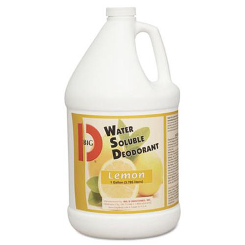 Big D Industries Water-Soluble Deodorant  Lemon Scent  1 gallon Bottles  4 Carton (BGD 1618)