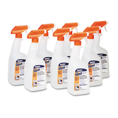 Febreze Professional Deep Penetrating Fabric Refresher  Fresh Clean  32 oz Spray  8 Carton (PGC 03259)