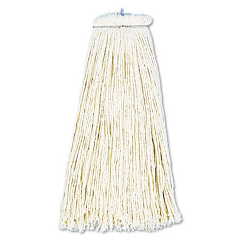 Boardwalk Cut-End Lie-Flat Wet Mop Head, Cotton, 16oz, White, 12/Carton (UNS 716C)