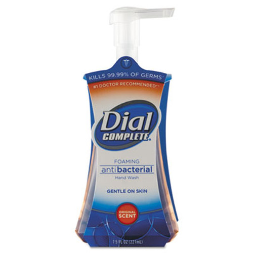 Dial Antibacterial Foaming Hand Wash  Original Scent  7 5 oz Pump Bottle  8 Carton (DIA 02936)