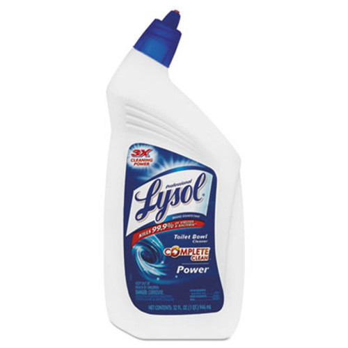 Professional LYSOL Brand Disinfectant Toilet Bowl Cleaner, 32oz Bottle, 12/Carton (REC 74278)