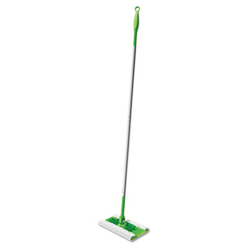"Swiffer Sweeper Mop, 10"" Wide Mop, Green, 3/Carton (PGC 09060)"