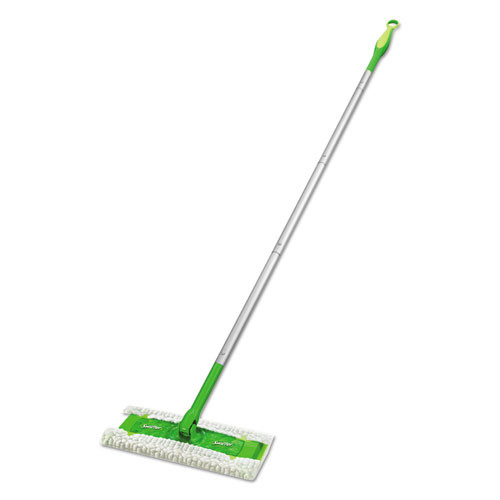 Swiffer Sweeper Mop  10  Wide Mop  Green  3 Carton (PGC 09060)