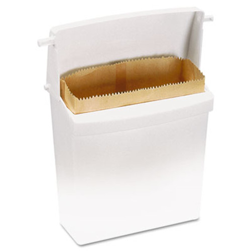 Rubbermaid Commercial Waxed Napkin Receptacle Liners  2 75  x 8 5   Brown  250 Carton (RCP 6141)