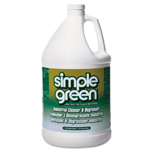 Simple Green Industrial Cleaner and Degreaser  Concentrated  1 gal Bottle  6 Carton (SMP 13005)