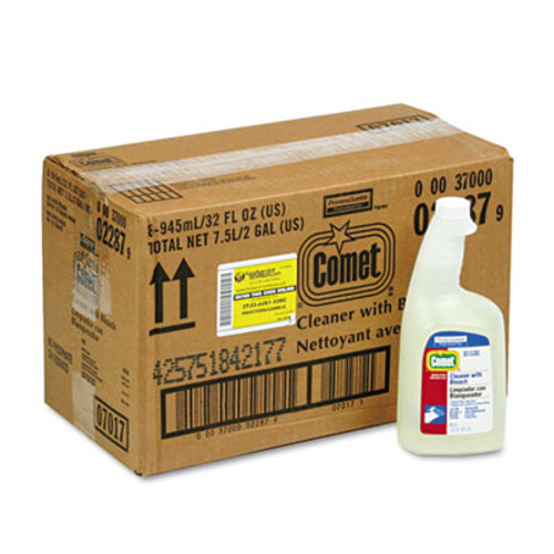 Comet Cleaner with Bleach  32 oz Spray Bottle  8 Carton (PGC 02287)