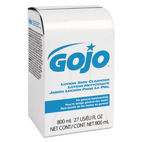 GOJO Lotion Skin Cleanser Refill  Floral  Liquid  800 mL Bag  12 Carton (GOJ 9112-12)